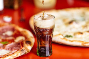 Pizza Fresh Point a Coca Cola